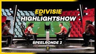 HIGHLIGHTSHOW | SPEELRONDE 2 | eDivisie 2019-2020 FIFA20