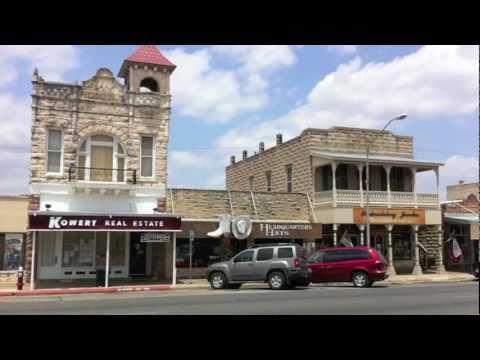 Deutsche Wurzeln In Fredericksburg, Texas