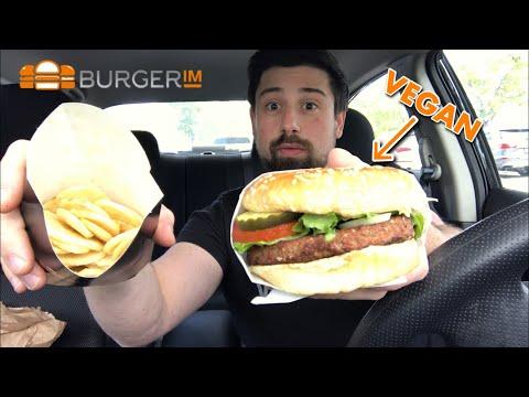 BurgerIM Vegan Burger Review #burgerim #burgerimveganburger #impossibleburger