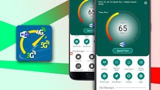 WiFi, 5G, 4G, 3G Speed Test - Cellular Speed Check - V1.5 screenshot 4