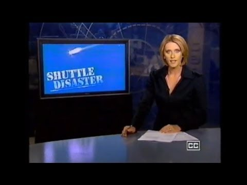 Space Shuttle Columbia Disaster - TEN News Australia (2003)