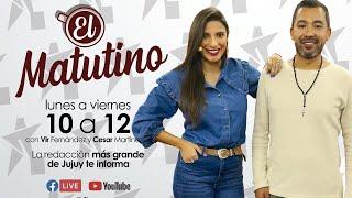 """#EnVivo: Abrimos una nueva semana con muchísima información en """"El Matutino"""""""