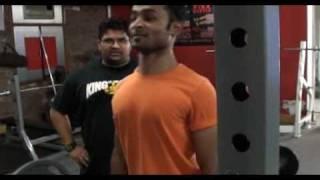 "Strength Training for MMA with ""Big"" Jitendra Khare part 3 : the"