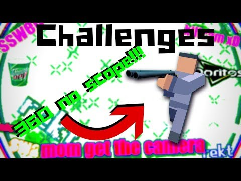 Krunker - MLG Challenges *RAGE* - 13 minutes of pain