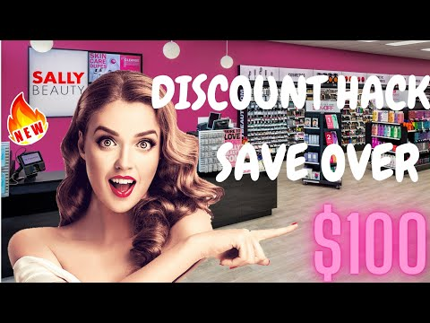 Sally Beauty Promo Code | Best Promo Coupon Code EVER 2020 [Unlimited]