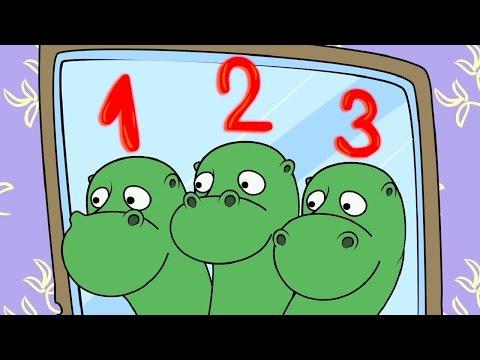 Мультфильм про цифру три