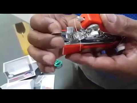 How to Operate AMI Mini Hand Sewing Machine