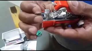 How to Operate AMI Mini Hand Sewing Machine thumbnail