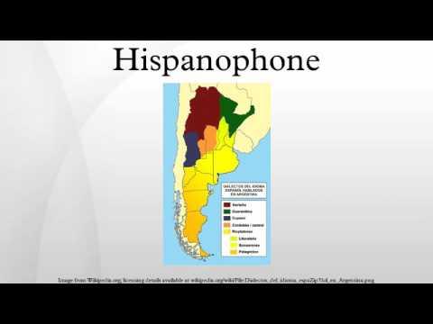 Hispanophone