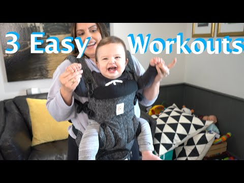 Ryan Seacrest - Sisanie Shares How to Workout With Your Baby at Home