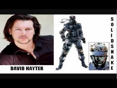 Metal Gear Solid  Characters and Voice Actors