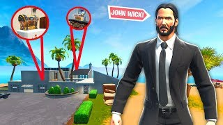 I can ONLY use loot from John Wick