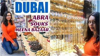 Dubai   A Different Side   Gold Souk, Meena Bazar, Dubai Creek, Al Seef