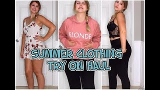 TRY ON CLOTHING HAUL | SUMMER STYLE