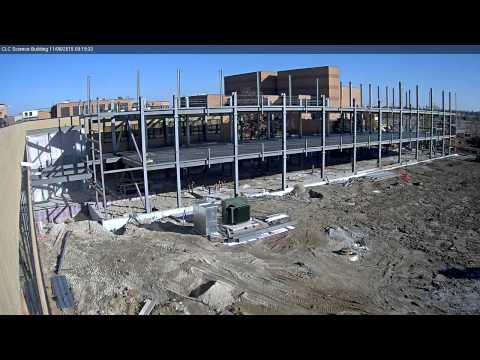 CLC Science Building Construction Camera