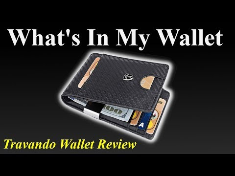 TRAVANDO Money Clip Wallet Review | What's In My Wallet