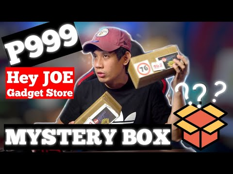 MY FIRST MYSTERY BOX UNBOXING FROM HEY JOE GADGET STORE | KennethAbellaTV
