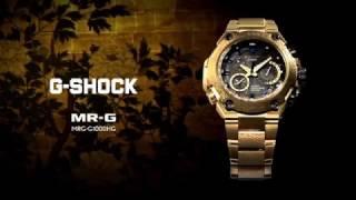 Золотые CASIO MRG-G1000HG-9A