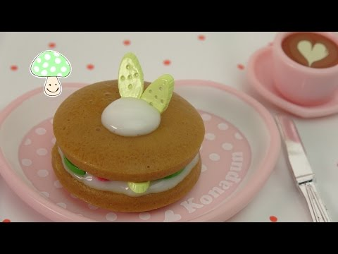 Cooking Toy! Fruit pancake in Licca chan Kitchen