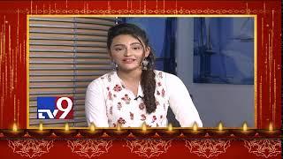 Seerath Kapoor wishes Happy Diwali to TV9 Viewers