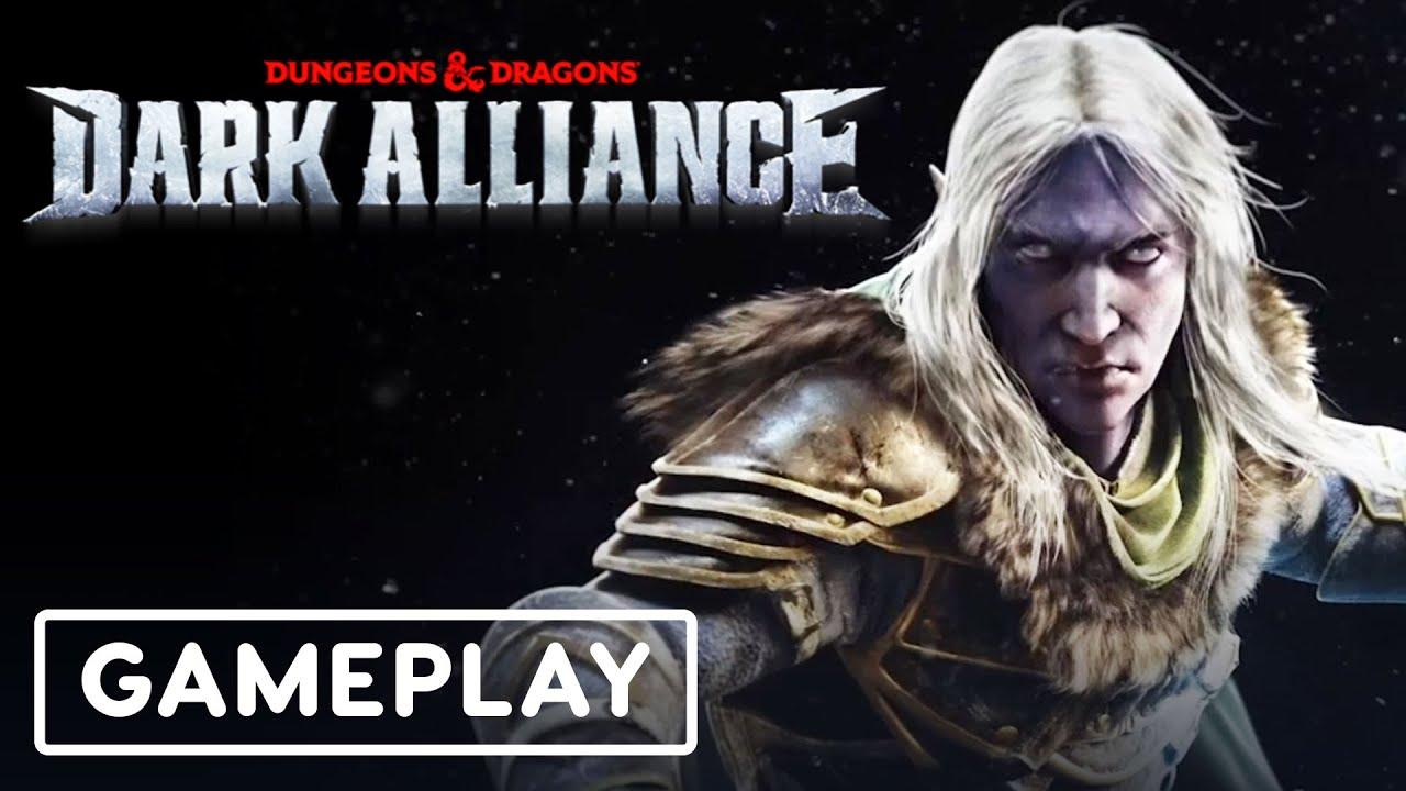 D&D: Dark Alliance - Gameplay (ft. Hannibal Burress, Ember Moon) | Summer Games Fest 2021 - IGN