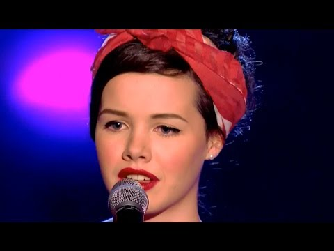 The Voice UK 2014 Blind Auditions  Sophie May Williams 'Time After Time' FULL