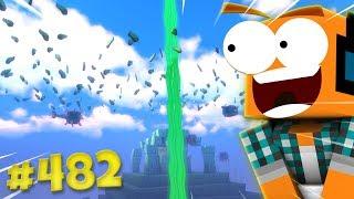 """Minecraft #482 - """"Dużo wodorostów! Podwodna świątynia cz.5!"""""""
