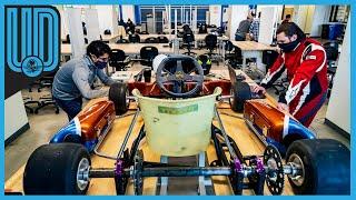 Javier Sáinz, un mexicano de 24 años, logró desarrollar Go Karts gracias a su talento