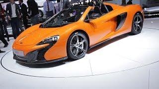McLaren 650S - Salon auto Genève 2014