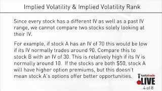 Using Implied Volatility & IV Rank to Trade Options