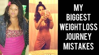6 Biggest Weight Loss Journey Mistakes