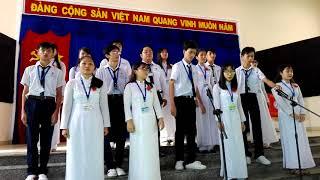 |11 ĐỊA - THẦY HÙNG MINH| QUỐC CA - ĐOÀN CA - HÀNH KHÚC CHUYÊN TIỀN GIANG