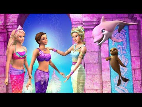 Barbie en francais 2015 barbie en francais full hd barbie et le secret des sir nes youtube - Barbie et le secret des sirenes 1 ...