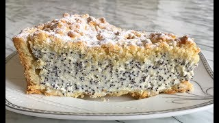 Невероятно Нежный Творожный Пирог с Маком и Кунжутом Обалденно Вкусно!!! / Cheese Cake with Poppy