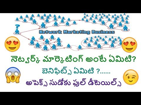 what is network marketing in telugu benifits of multi-level marke - Apex Sudoku full details telugu