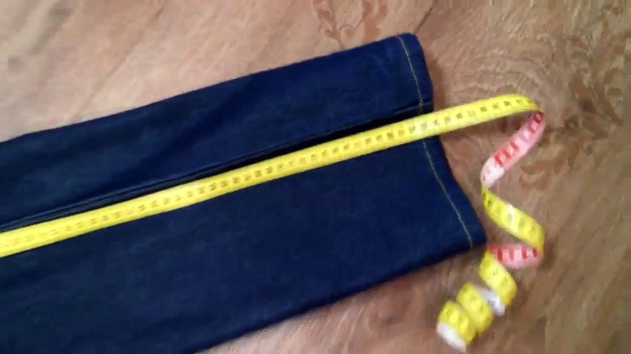 Как определить свой размер при заказе жестких джинсов Монтана