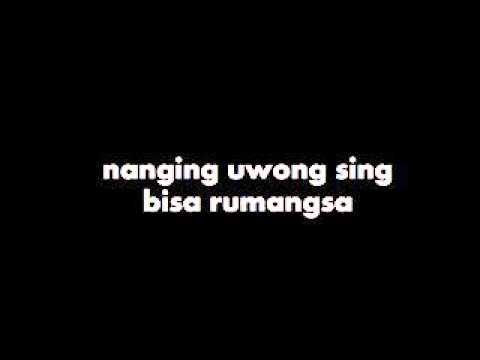 Lagu Ojo Ngece Karo Wong Ora Duwe + Lyrics