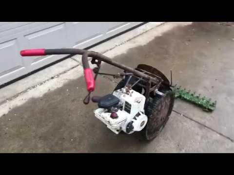 Jari sickle mower in action
