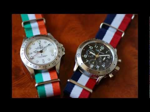 Exotic Nato Straps from Brisbane Vintage Watches - Sydney Vintage Watches