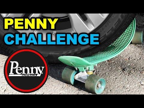 Разбиваем Пенни Скейт об Асфальт и Переезжаем Автомобилем. Челлендж Китай или Оригинал? Кто победит?