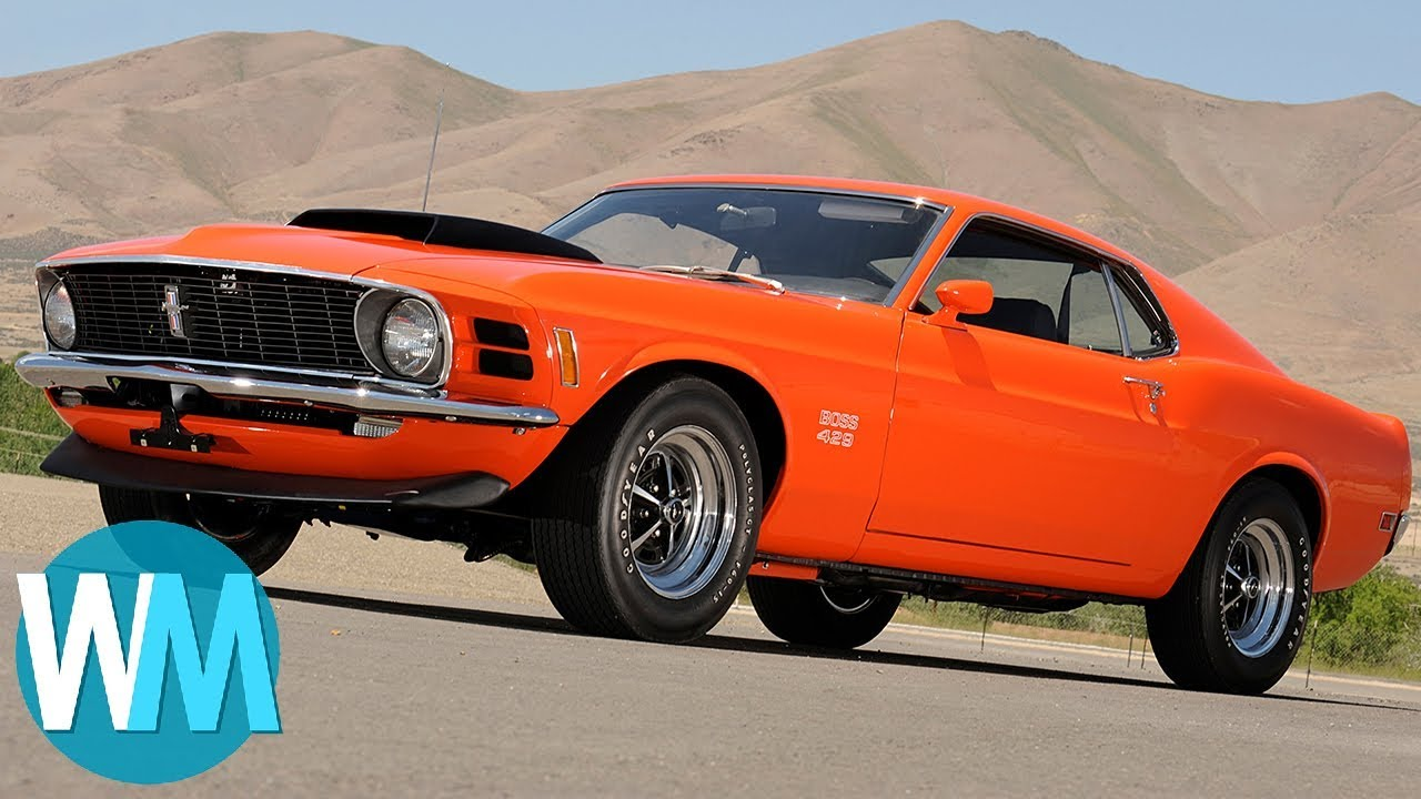 Top 5 Iconic Muscle Cars - YouTube