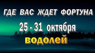 ВОДОЛЕЙ 🍀 ПРОБЛЕМЫ в ДОРОГАХ 🍀 неделя с 25 по 3...