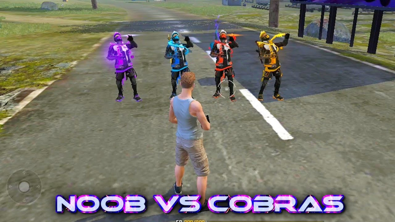 NOOB VS 4 COBRAS   DONT MESS WITH NOOBS - GARENA FREE FIRE #Shorts