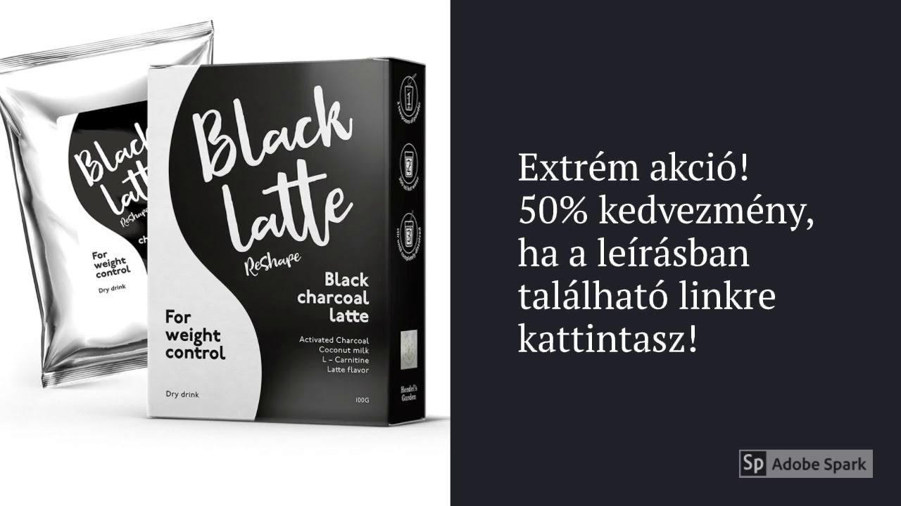 black latte vélemény