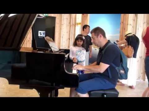 Expo Milano 2015 Estonia Pavillon - Pianoforte per tutti!