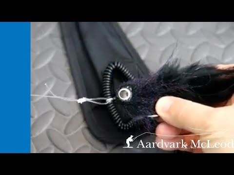 How To Attach Big Flies To Heavy Leader Using Perfection Loop & Homer Rhode Knots