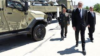 Ильхам Алиев открыл новую воинскую часть в Нахчыване