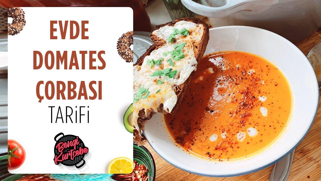 Evde Domates Çorbası Tarifi   Instagram'da En Çok İzlenen Çorba Tarifim
