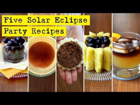 Solar Eclipse Food Party Ideas