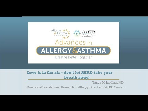 Webinar on Aspirin Exacerbated Respiratory Disease (Samter's Triad)